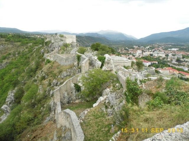 Forteresse de Knin, Knin, Comitat de Šibenik-Knin, Croatie