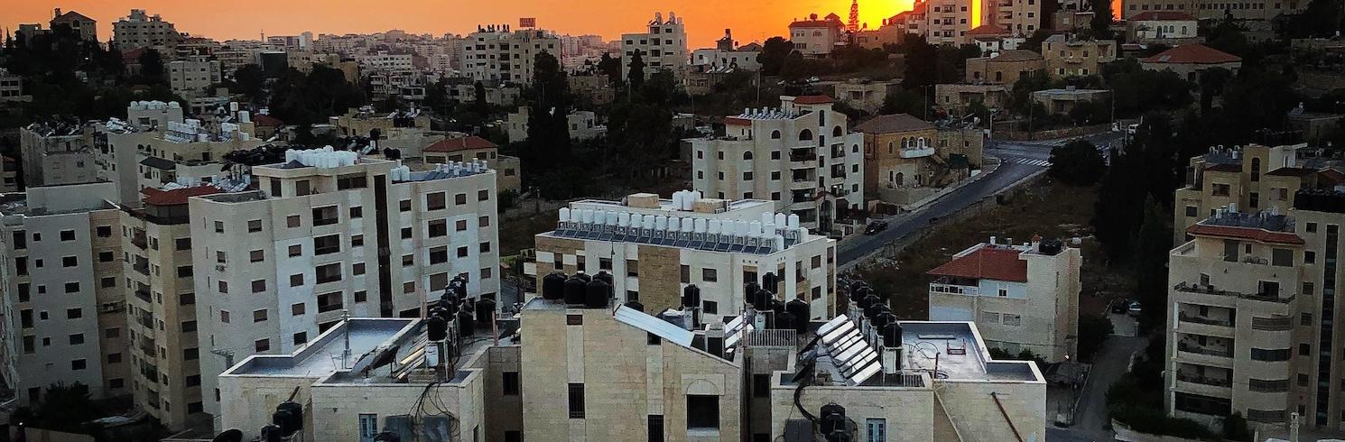 라말라, 팔레스타인 영토