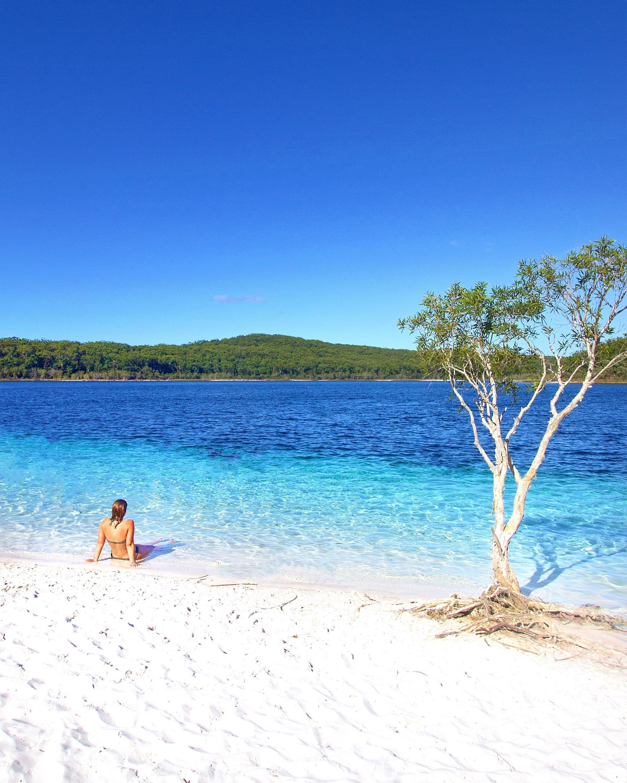 Lake McKenzie, Frasereiland, Queensland, Australië