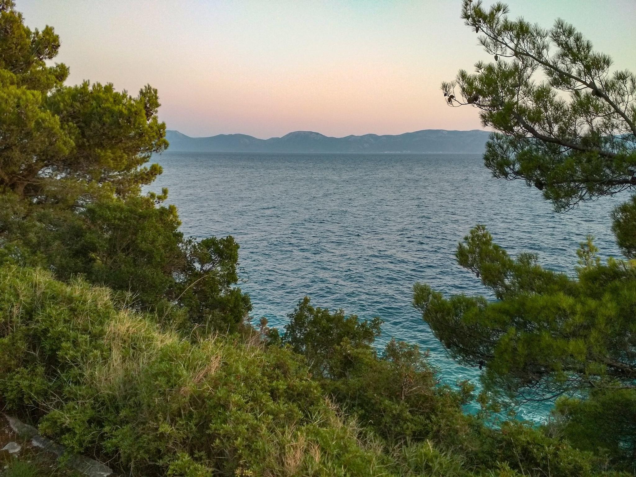 Zaostrog, Gradac, Split-Dalmatië, Kroatië