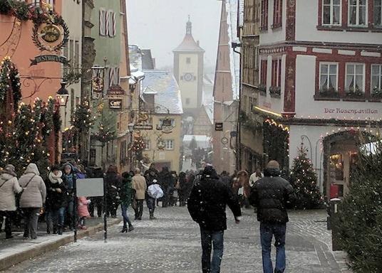 Rothenburg ob der Tauber, Almanya