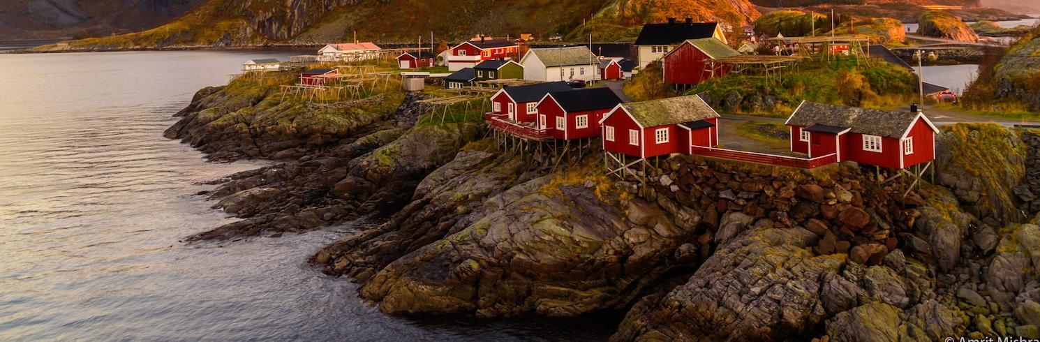 Hamnøya, Norvegija