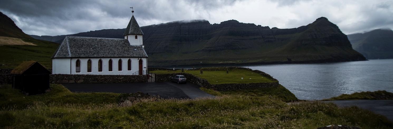 Vidareidi, Pulau Faroe