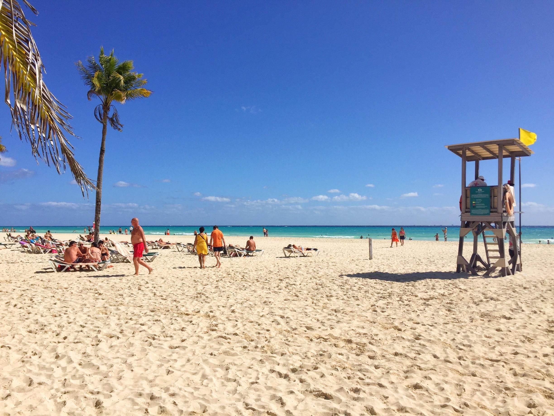 Playacar Beach, Playa del Carmen, Quintana Roo, Mexico