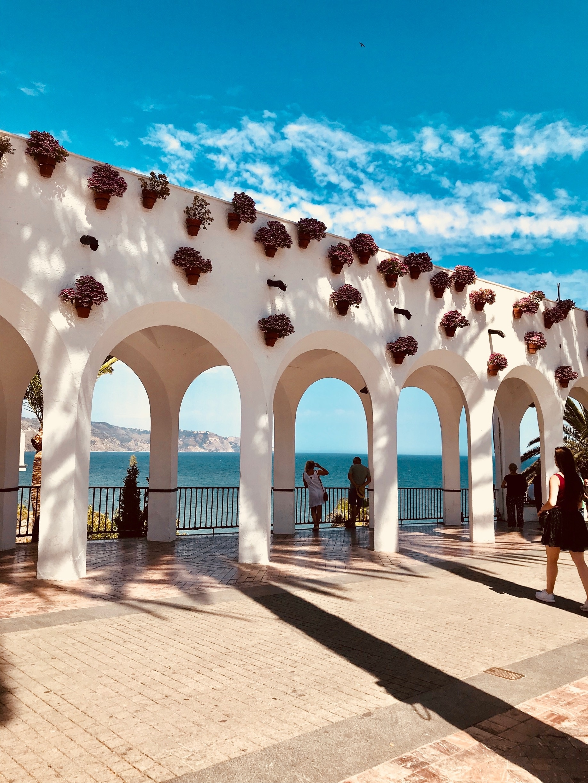 Caletilla Beach, Nerja, Andalusia, Spain