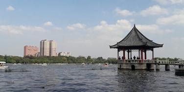 Damming lake, Jinan