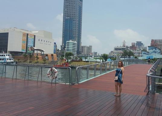 Centrum mesta Keelung, Taiwan
