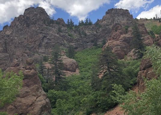 Southwest Colorado Springs, Colorado, USA