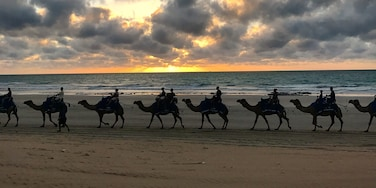 Classic sunset at Cable Beach, Broome