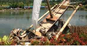 Πλωτή Αγορά του Λεμπάνγκ στο Μπαντούνγκ