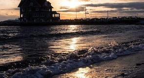 Eastern Point Beach tengerpart