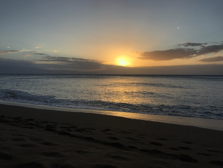 Kahana Beach, Lahaina, Hawaii, United States of America