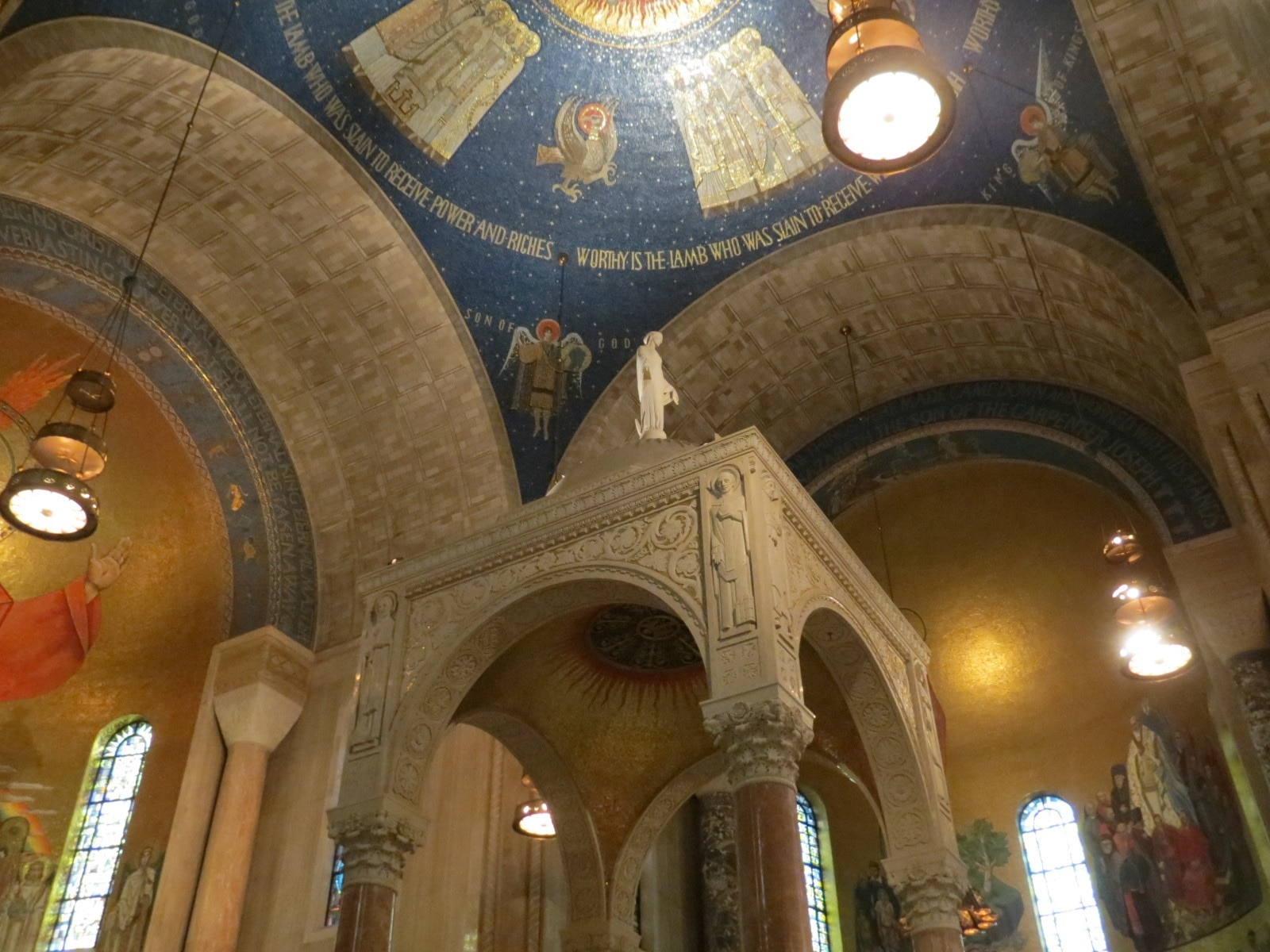 Basilica of the National Shrine of the Immaculate Conception, Washington, District of Columbia, United States of America