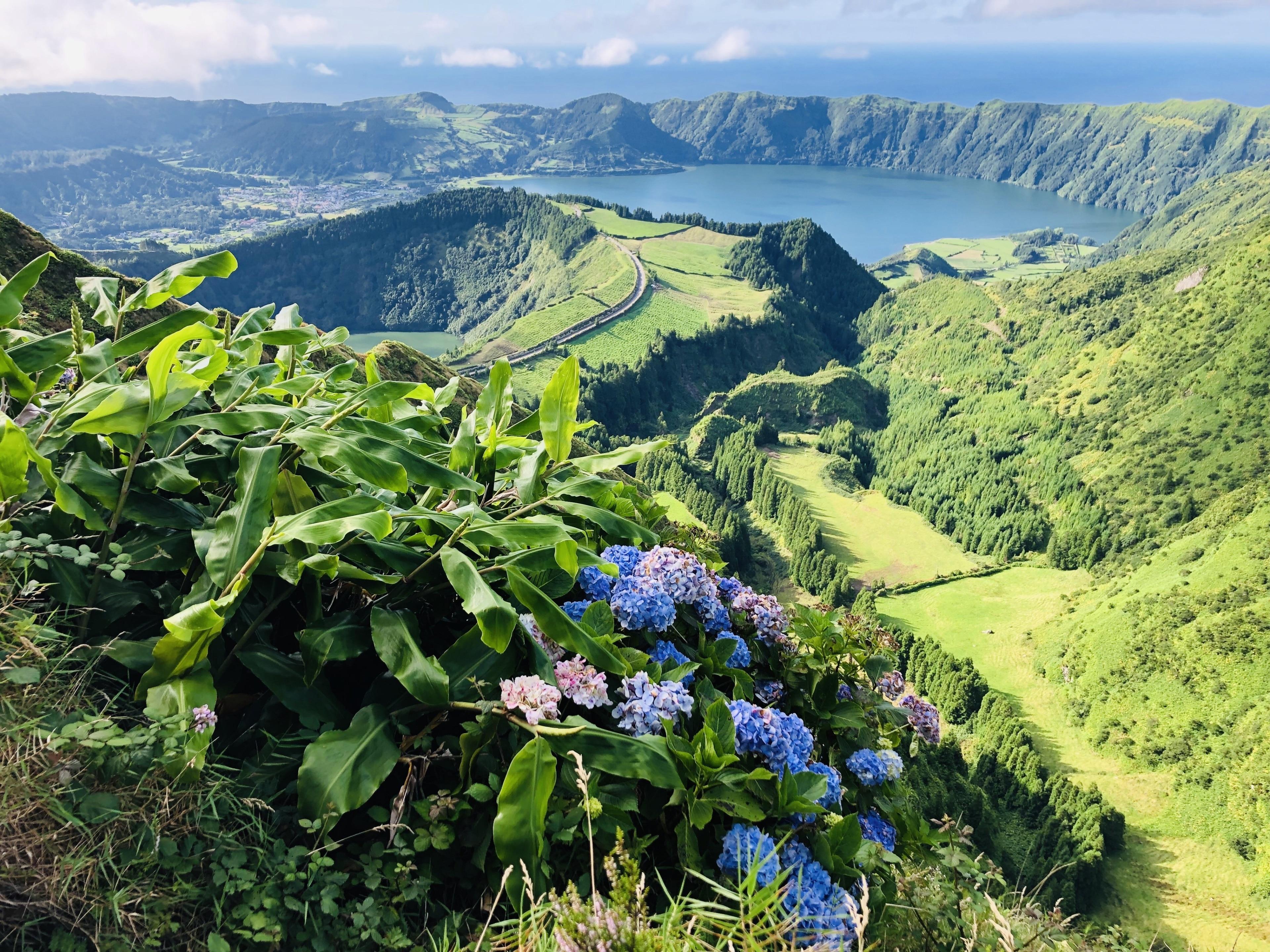 Aussichtspunkt Boca do Inferno, Ponta Delgada, Azoren, Portugal