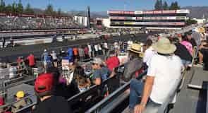 Dragsterrennstrecke Pomona Raceway