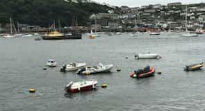 Fowey Town Quay Landing