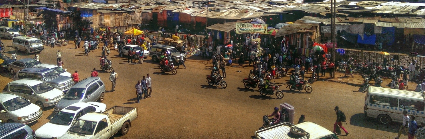 Central Kampala, Ouganda