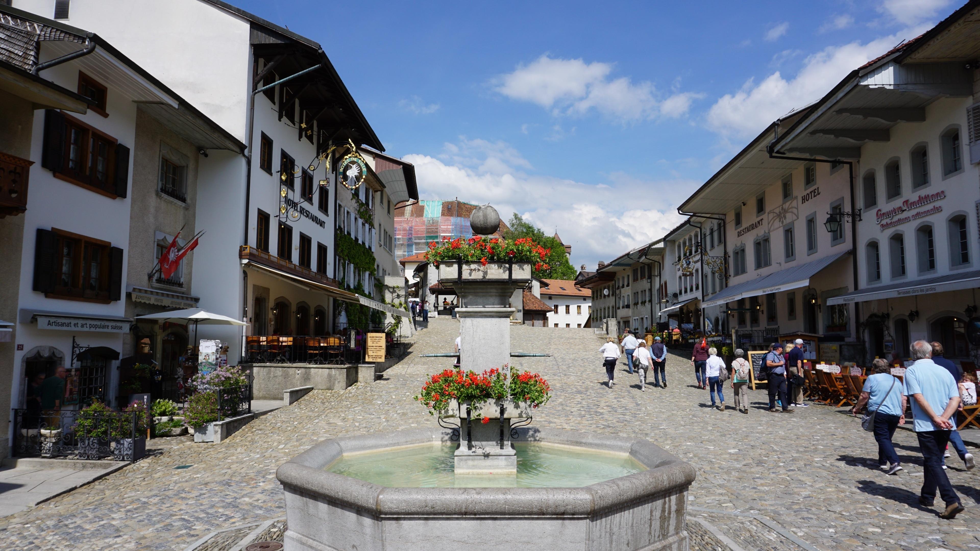 La Gruyère, Canton of Fribourg, Switzerland