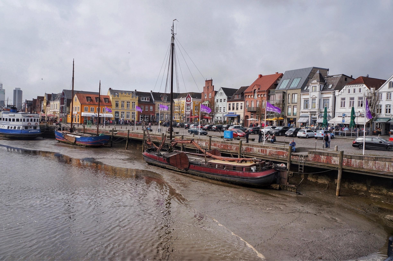 Husumer Binnenhafen, Husum, Schleswig-Holstein, Deutschland