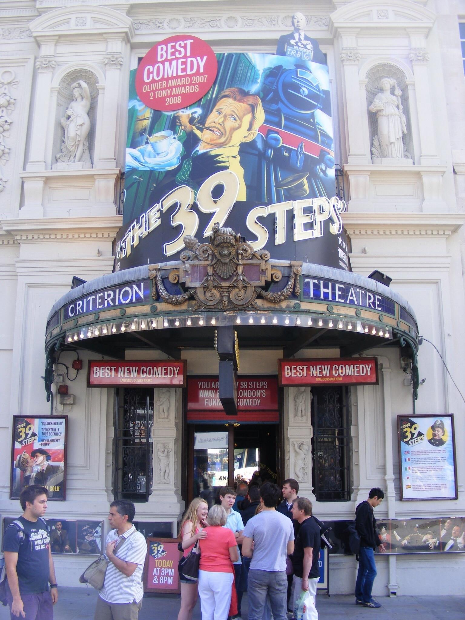 Criterion Theatre, London, England, Großbritannien