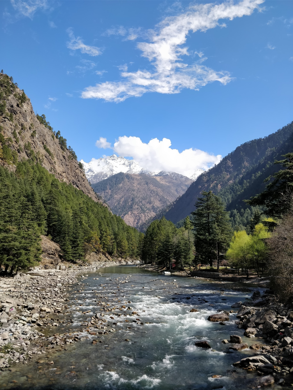 Chalal Trek Trail, Kullu, Himachal Pradesh, Indien
