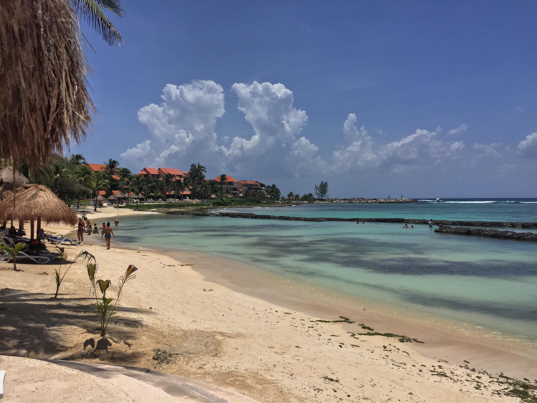 Oasis Beach, Puerto Aventuras, Quintana Roo, Mexique