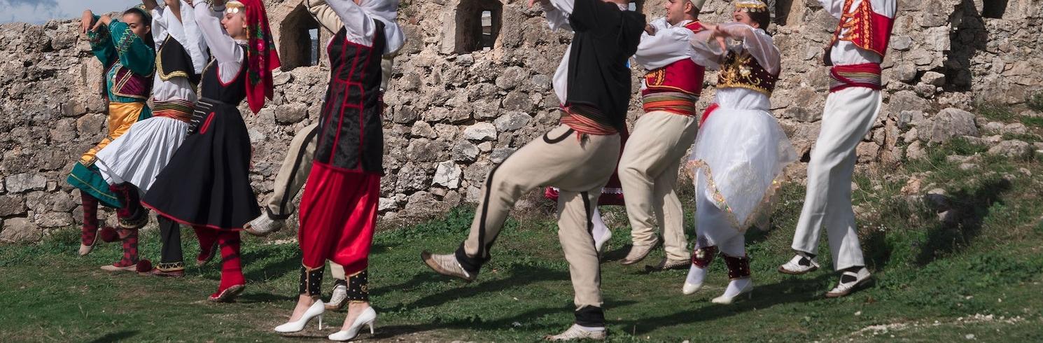 Krujë, Albánie