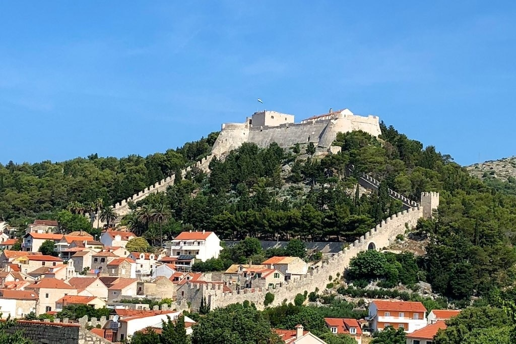 Hvar Fortress, Hvar, Split-Dalmatia, Croatia