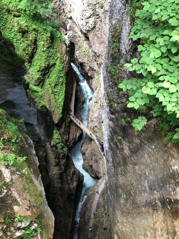 Breitachklamm, Oberstdorf, Swabia, Bavaria, Germany