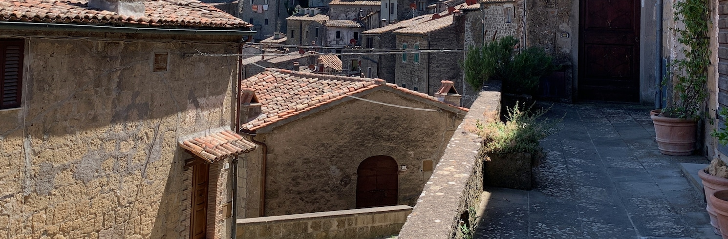 Sorano, Itálie