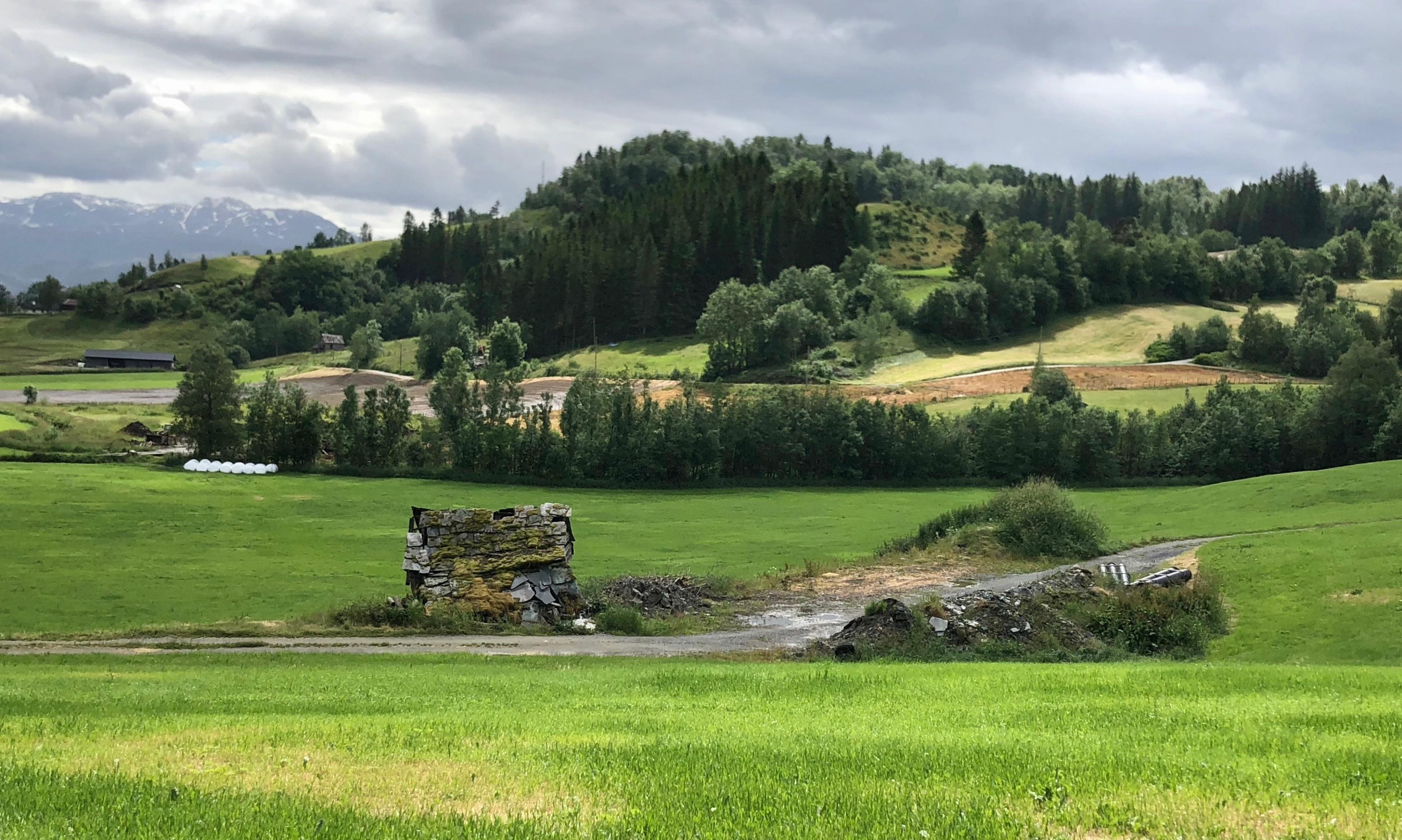 Oystese, Kvam, Vestland, Noorwegen