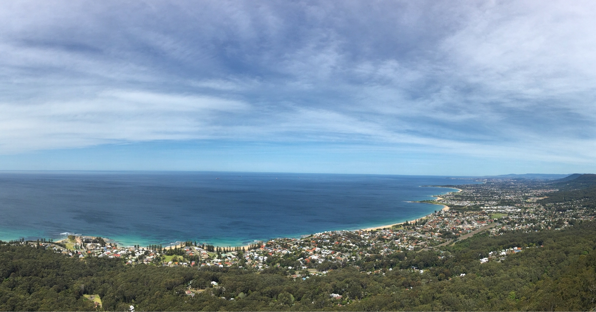 Sublime Point Lookout, Wollongong, New South Wales, Australia