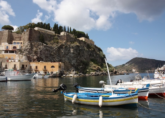 Centro Histórico de Lípara, Itália
