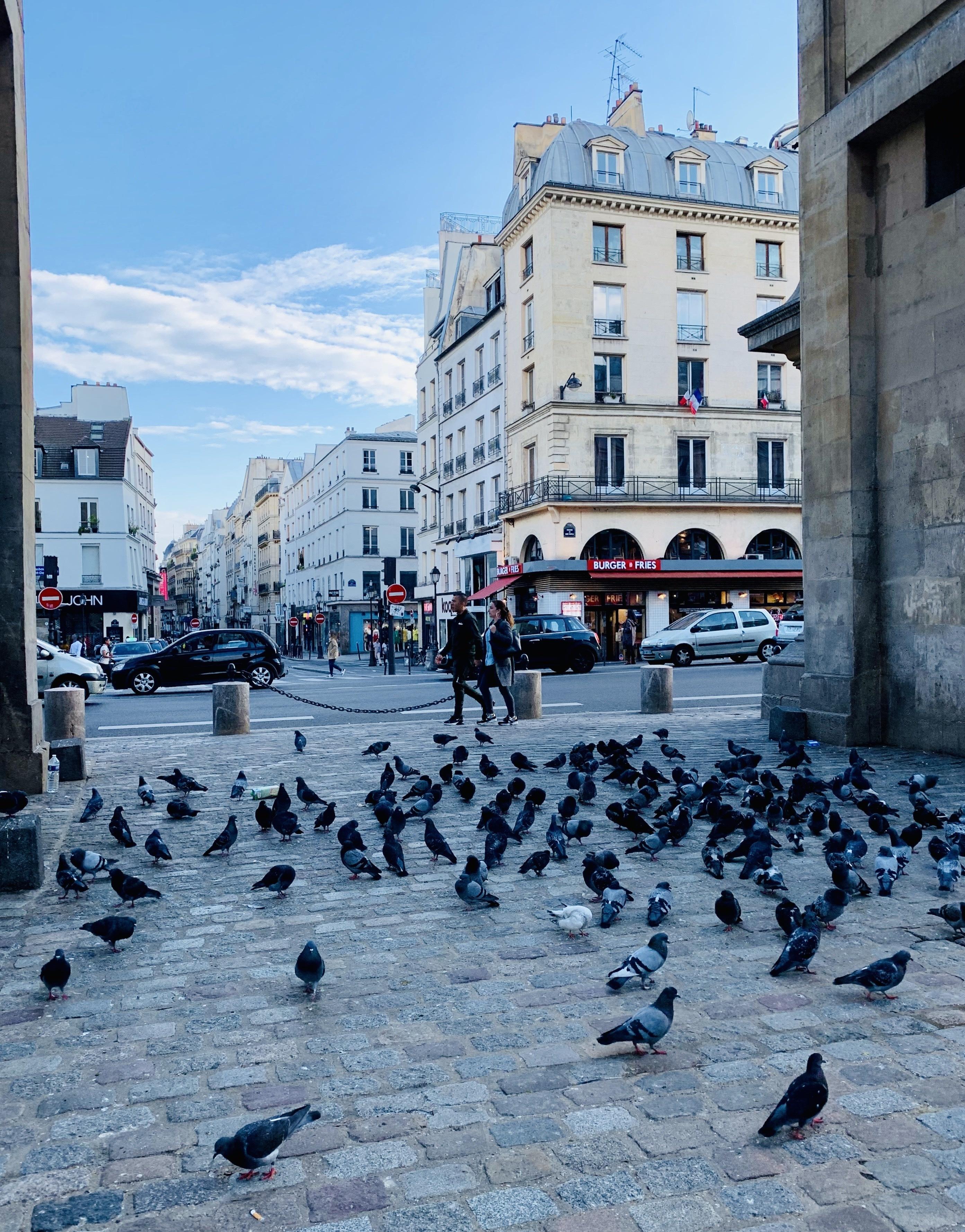 Quartier de la Porte-Saint-Denis, Paris, France