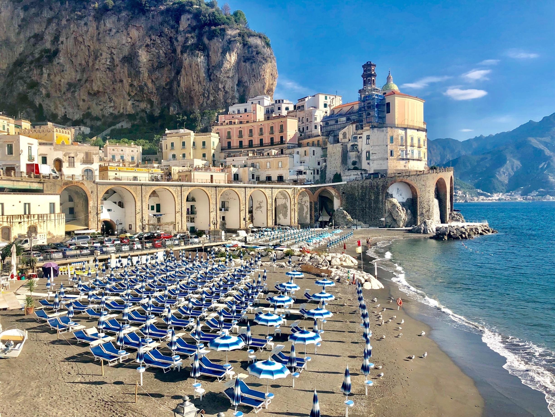 Atrani Beach, Atrani, Campania, Italy