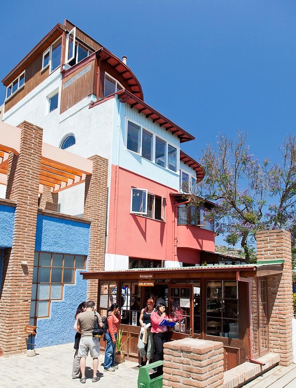 La Sebastiana Museum (Pablo Neruda's House), Valparaiso, Valparaíso, Chile