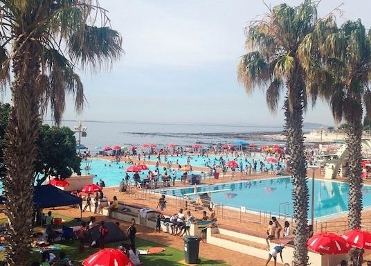 Sea Point Promenade, Zuid-Afrika