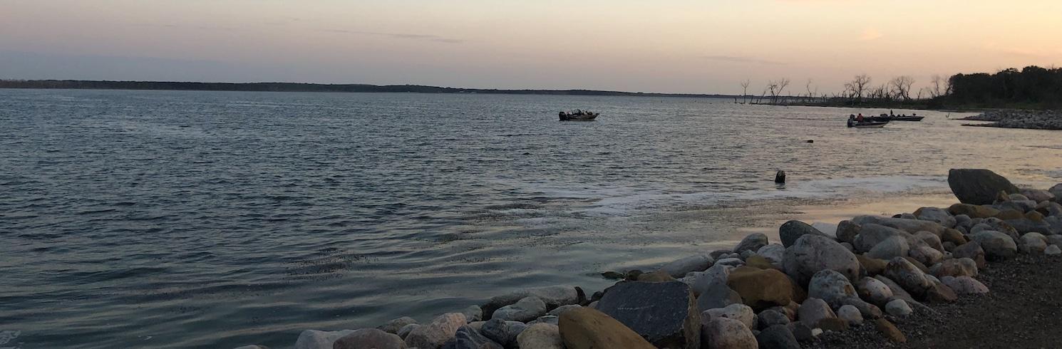 魔鬼湖, 北達科他, 美國