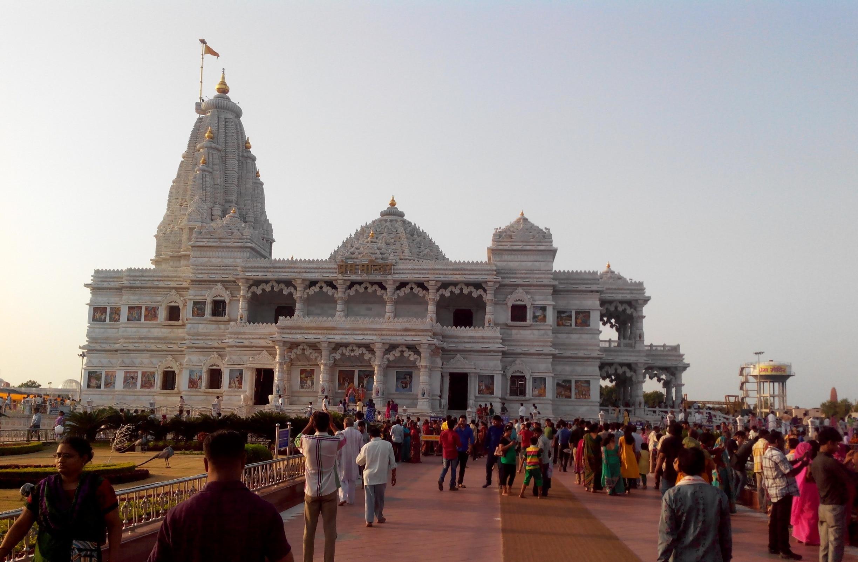 Prem Mandir Vrindavan, Mathura, Uttar Pradesh, India