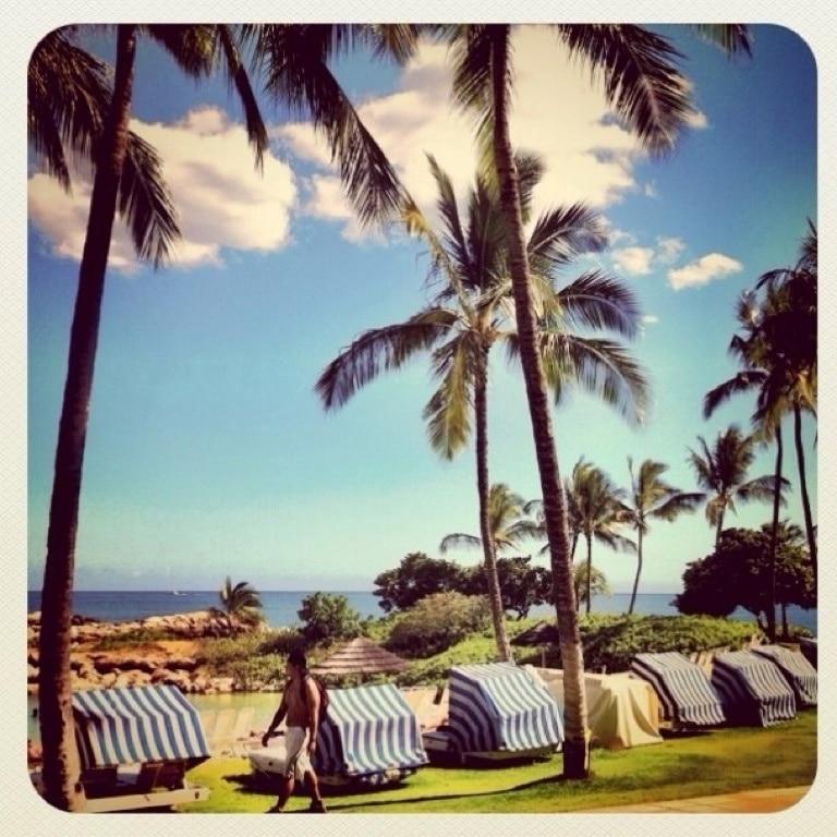 Ko Olina Beach Park, Kapolei, Hawaii, USA