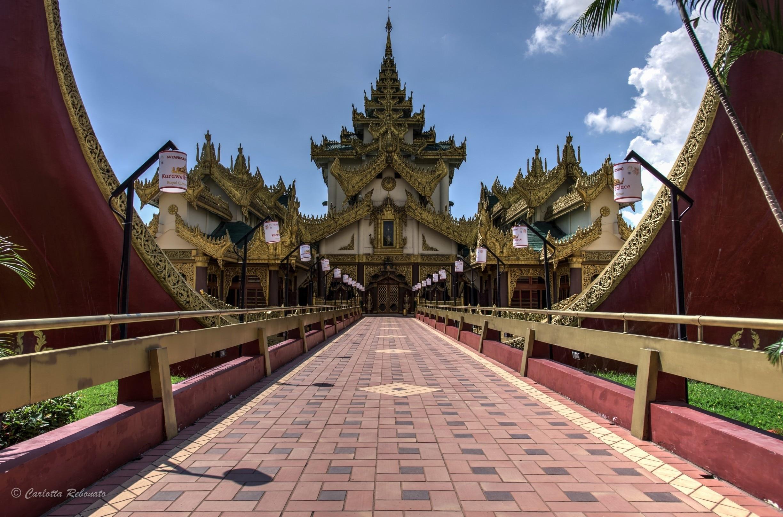 Kandawgyi Lake Area, Yangon, Yangon Region, Myanmar