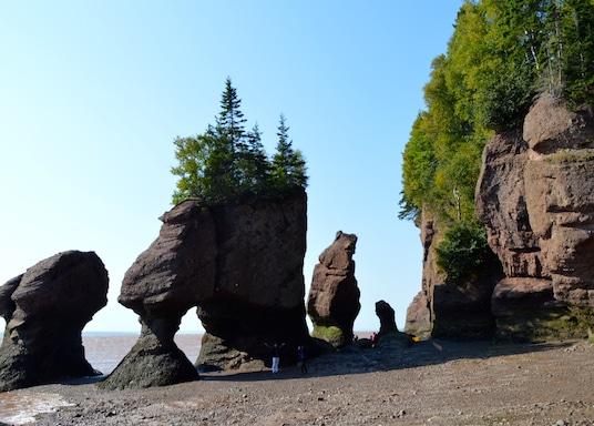 Hopewell Cape, Bang New Brunswick, Canada