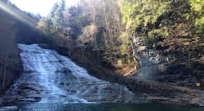 奶油瀑布州立公園