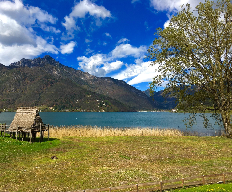 Ledrosee, Ledro, Trentino-Südtirol, Italien