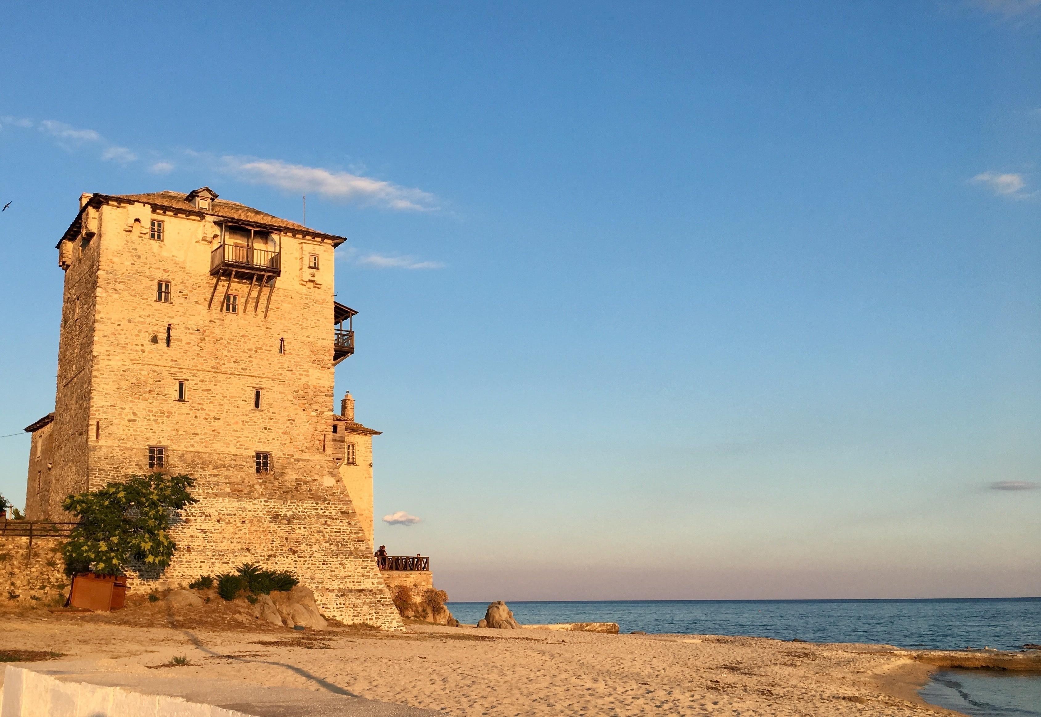Ouranoupoli Beach, Aristotelis, Central Macedonia, Greece
