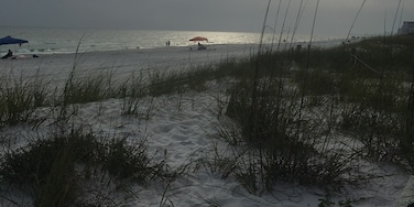 Gorgeous water, sparkling sand, friendly community...PCB is definitely a place on the return visit list!