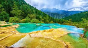 Reservaat van Huanglong