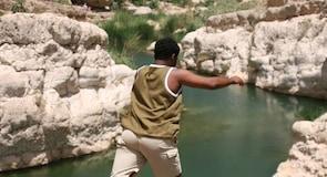 Cañón del río Wadi Shab