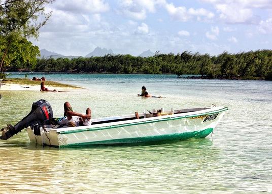Bain Boeuf, Mauritius