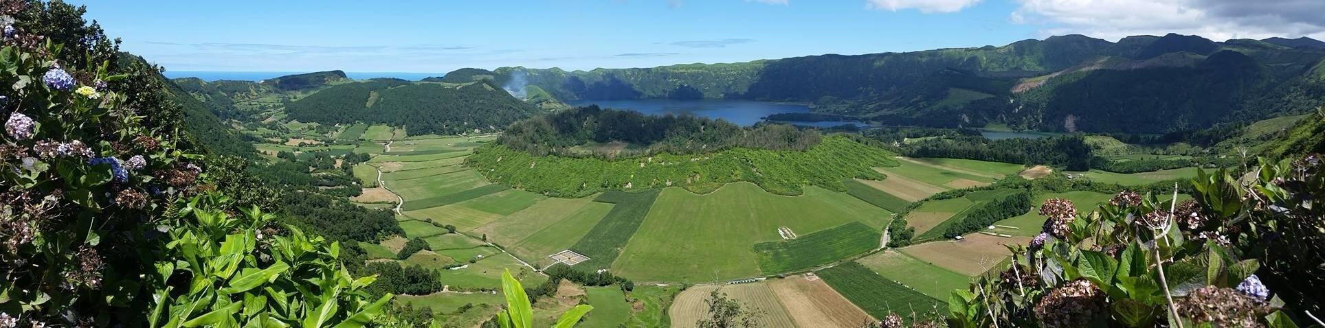 Lagoa de Santiago, Ponta Delgada, Azores, Portugal